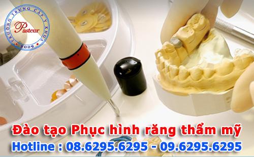 Đào tạo nguồn nhân lực Kỹ thuật viên phục hình răng chất lượng cao