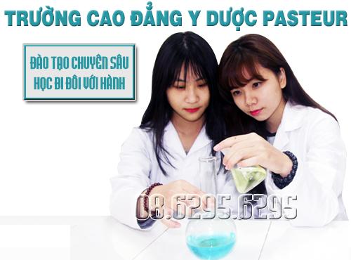 Học điều dưỡng phải chọn Cao đẳng Y Dược Pasteur