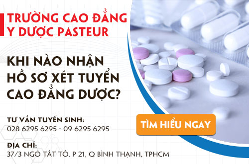 Cao đẳng Y Dược Pasteur TPHCM khi nào nhận hồ sơ?