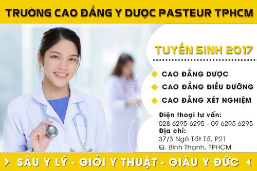 Tuyển sinh Cao đẳng Y Dược tại TPHCM