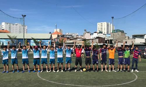 Chung kết bóng đá Chi đoàn Y Dược Pasteur CS Bình Thạnh