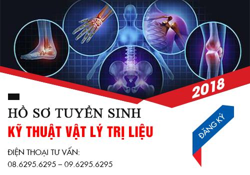 Hướng dẫn hồ sơ tuyển sinh Cao đẳng Kỹ thuật vật lí trị liệu năm 2018