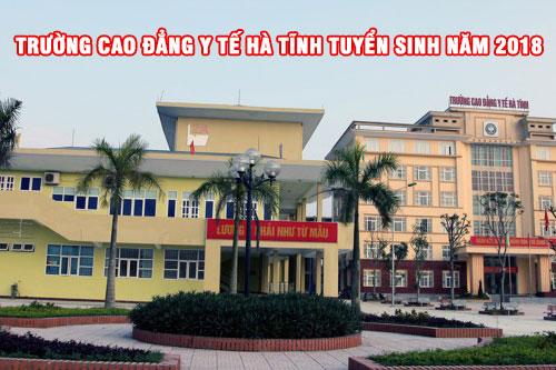 Trường Cao đẳng Y tế Hà Tĩnh tuyển sinh năm 2018