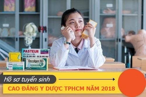 Hồ sơ xét tuyển Cao đẳng Y Dược TP.HCM năm 2018 gồm những giấy tờ gì?