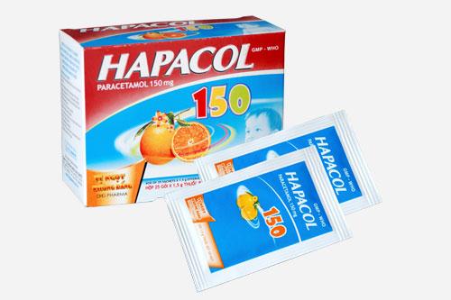 Dược sĩ tư vấn cách sử dụng thuốc Hapacol 150 mg
