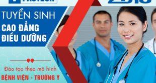 Đào tạo hệ cao đẳng điều dưỡng mô hình trường học bệnh viện