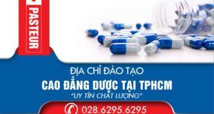 Địa chỉ đào tạo cao đẳng dược tại tphcm