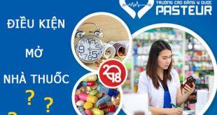 Liên thông cao đẳng dược TpHCM có được mở nhà thuốc