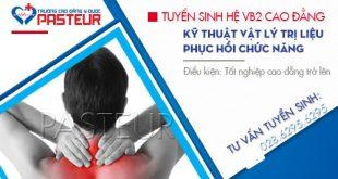 Tuyển sinh VB2 cao đẳng kỹ thuật vật lý trị liệu tại TP.HCM