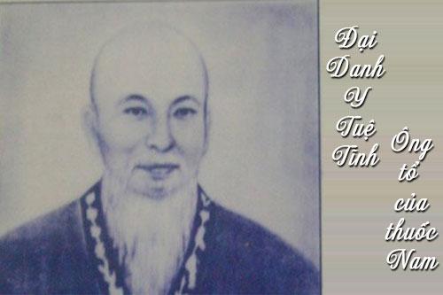 Đại danh Y Tuệ Tĩnh - ông tổ của nganh Y Dược Việt Nam