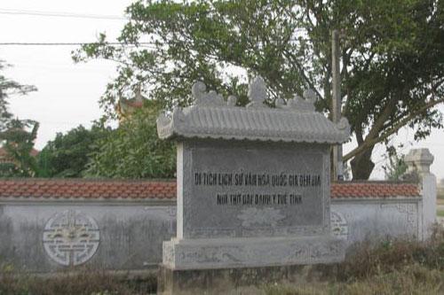 Khu di tích Đền Bia - Nơi thờ đại danh y Tuệ Tĩnh