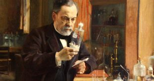 Nhà bác học thiên tài Louis Pasteur tại phòng thí nghiệm