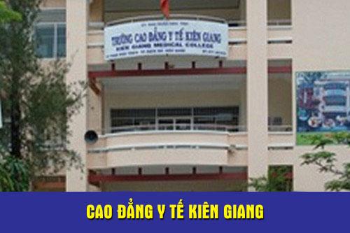 Trường cao đẳng y tế Kiên Giang tuyển sinh năm 2018