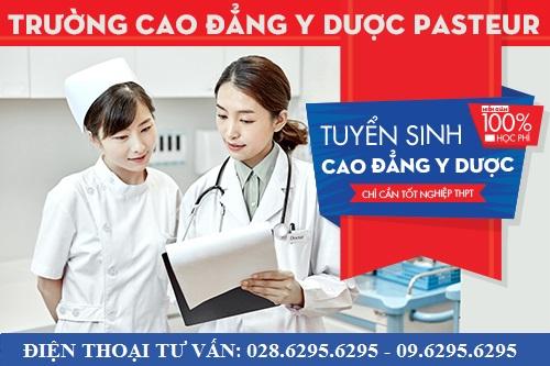 Để học tại Cao đẳng Y Dược Pasteur chỉ cần tốt nghiệp THPT