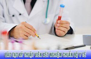 Đào tạo kỹ thuật viên xét nghiệm chuẩn Bộ Y tế
