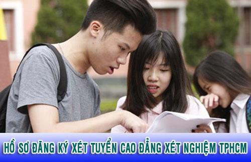Hồ sơ đăng ký xét tuyển Cao đẳng xét nghiệm TPHCM