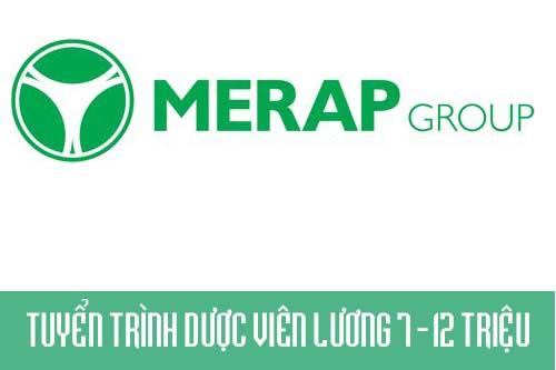 Công Ty CP Merap Group tuyển Trình Dược viên lương 7-12 triệu