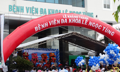 Bệnh viên đa khoa Lê Ngọc Tùng tuyển dụng năm 2017