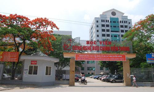 Học viện Công nghệ Bưu chính Viễn thông sẽ tuyển 3.050 sinh viên