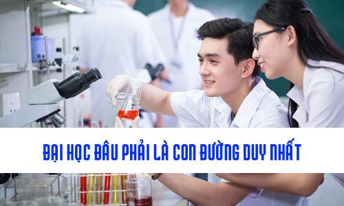 Vì sao chọn Cao đẳng Dược TPHCM khi trượt đại học là đúng đắn?