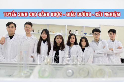 Tuyen sinh cao dang duoc dieu duong xet nghiem nam 2017