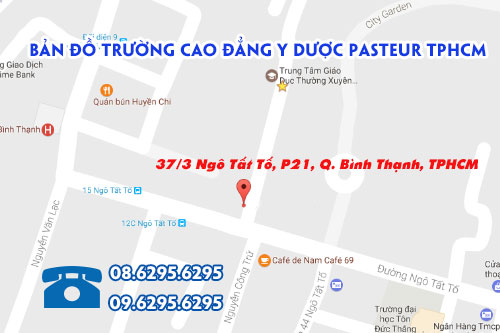 Địa chỉ Cao đẳng Y Dược Pasteur TPHCM