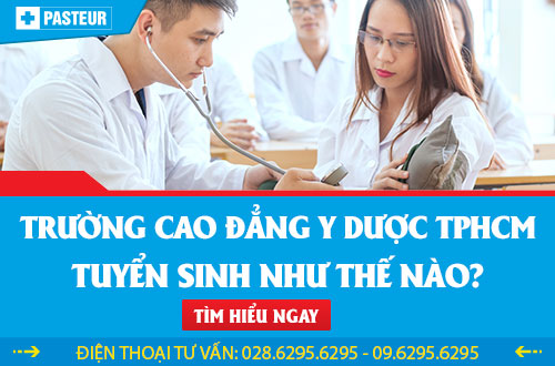 Thông tin tuyển sinh cao đẳng Y Dược TPHCM