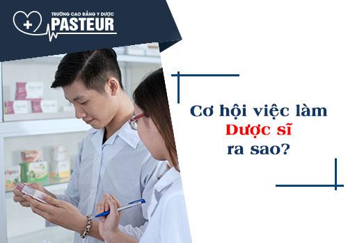 Dược sĩ ra trường có phải lo lắng về việc làm