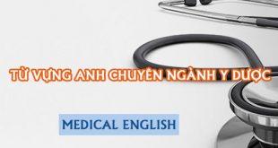 Từ vựng tiếng Anh về các bệnh thường gặp
