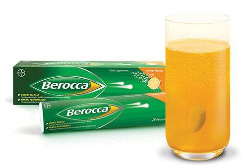 Nên hòa toàn hoàn toàn thuốc Berocca trước khi dùng