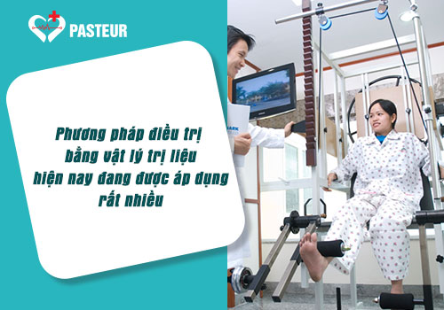 Phương pháp điều trị bằng Vật lý trị liệu đang được áp dụng rất nhiều