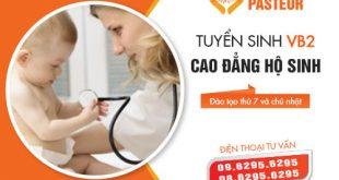 Tuyển sinh Cao đăng Hộ sinh TPHCM năm 2018