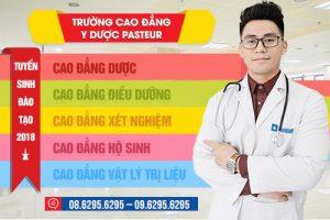 cao đẳng y dược Pasteur cs TPHCM tuyển sinh năm 2018