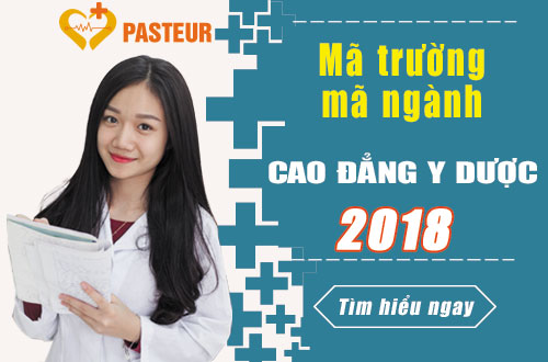 Mã ngành, Mã trường Cao đẳng Y Dược TP.HCM năm 2018 là gì?
