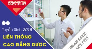 Tuyển sinh Liên thông cao đẳng dược năm 2018