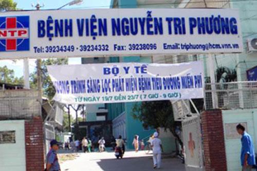 Bệnh viện Nguyễn Tri Phương tuyển dụng năm 2018
