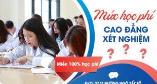 Học cao đẳng xét nghiệm với mức học phí thấp