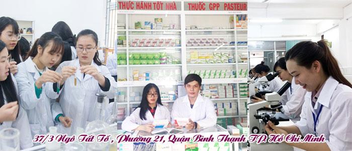 Cao đẳng y dược Pasteur Bình Thạnh