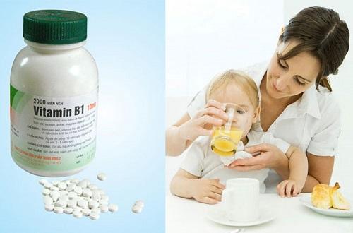 Hướng dẫn liều lượng sử dụng Vitamin B1