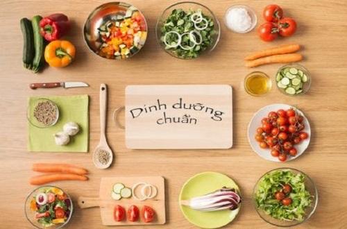 Cung cấp một chế độ dinh dưỡng chuẩn mực