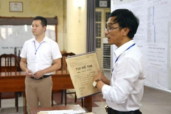 Đề thi THPT quốc gia được bảo mật nghiêm ngặt