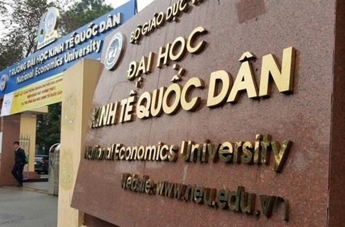 Đại học Kinh tế quốc dân tuyển thẳng 347 thí sinh năm 2018