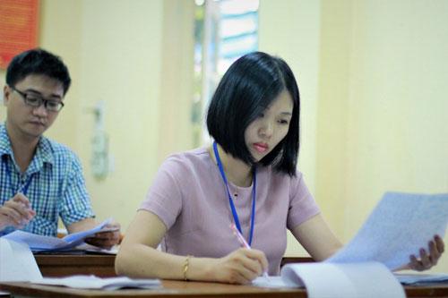 TPHCM đã hoàn tất chấm thi môn văn THPT