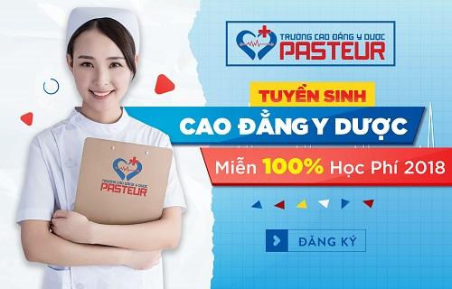 Miễn giảm 100% học phí tuyển sinh Cao đẳng Y Dược TPHCM 2018