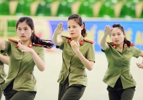 Hà Gàn, hòa Bình, Sơn La là 3 tính có tỉ lệ trúng tuyển học viện ANND cao nhất