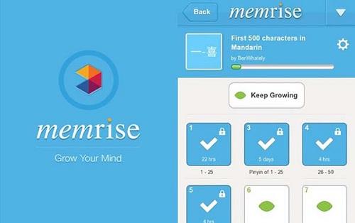 Ứng dụng Memrise