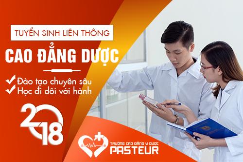 Lịch thi liên thông Cao đẳng Dược tại TPHCM tháng 11/2018