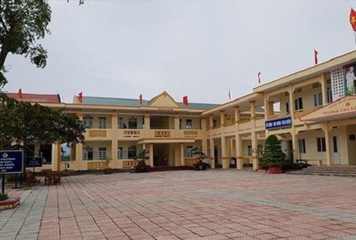 Trường THCS Duy Ninh, nơi xảy ra vụ việc cô giáo phạt học sinh 231 cái tát