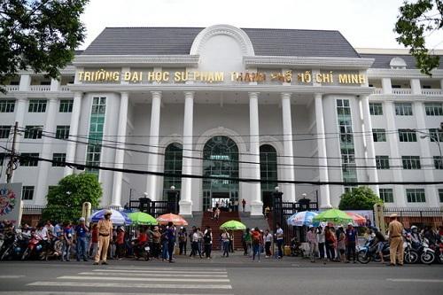 Phương án tuyển sinh Trường Đại học Sư phạm TPHCM năm 2019