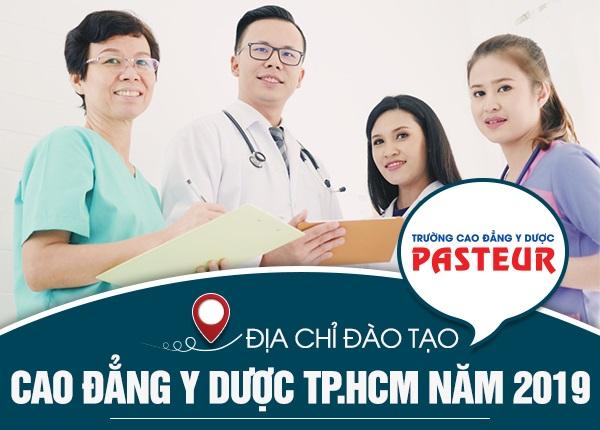 Địa chỉ đào tạo Cao đẳng Y Dược tại TPHCM năm 2019